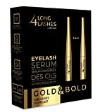 Long4Lashes GOLD Wimpernserum Exklusives Doppelset 2 x 4ml