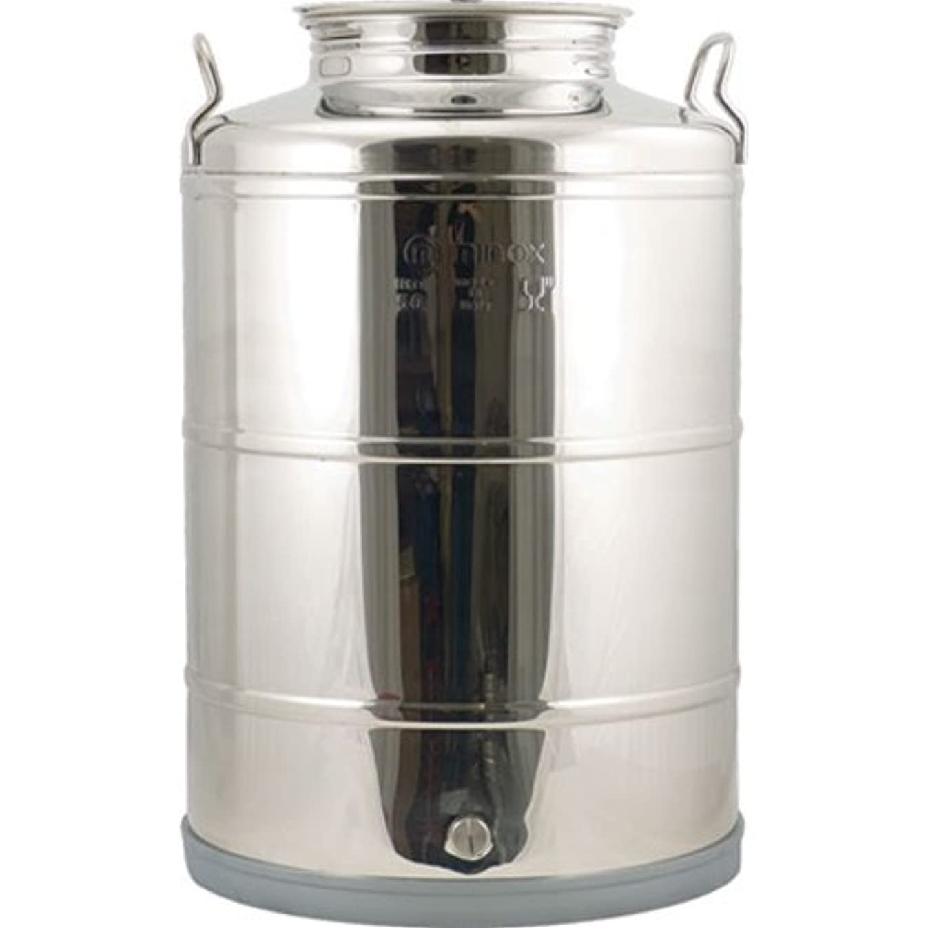 Eagle WE730 Stainless Fusti Tank, 14 gal, Silver