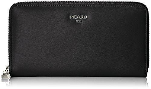 Picard Damen Bingo Geldbörse, Schwarz (Schwarz), 2.5x10x19 cm