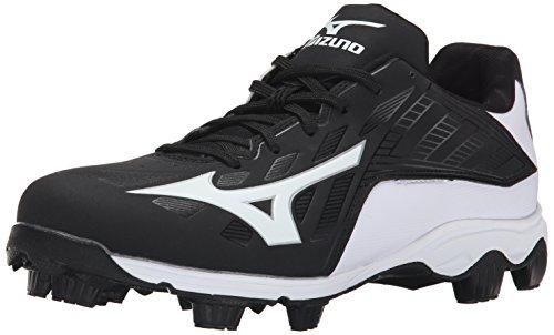 Mizuno Herren 9 Spike ADV Franchise 8 BK Baseballklampe, (schwarz/weiß), 47 EU