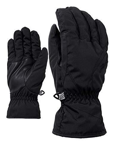Ziener Damen KATA lady glove Ski-handschuhe / Wintersport  warm, atmungsaktiv, schwarz (black), 7