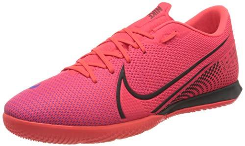 Nike Herren Vapor 13 Academy IC Fußballschuhe, Rot Laser Crimson Black Laser Crim 606, 42 EU