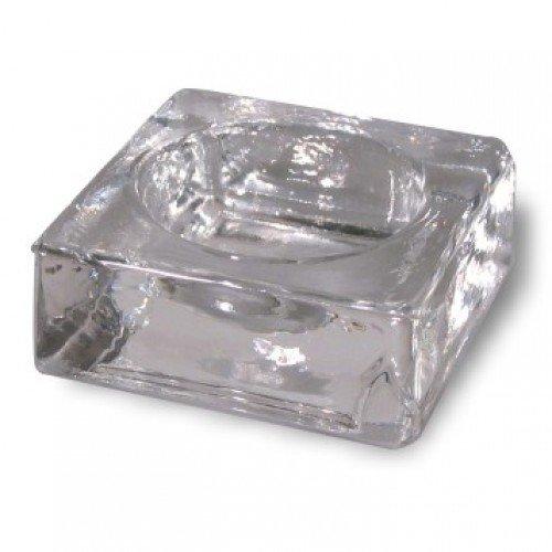 Combinal Färbeschälchen aus Glas, zum Verrühren von Augenbrauenfarbe, 1 Stück