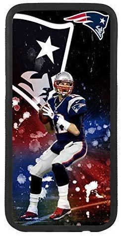 custom-cases Hülle Tasche TPU für alle die Mobile mit Gestaltung von Tom Brady Quarterback Neu England Patrioten - iPhone Xr
