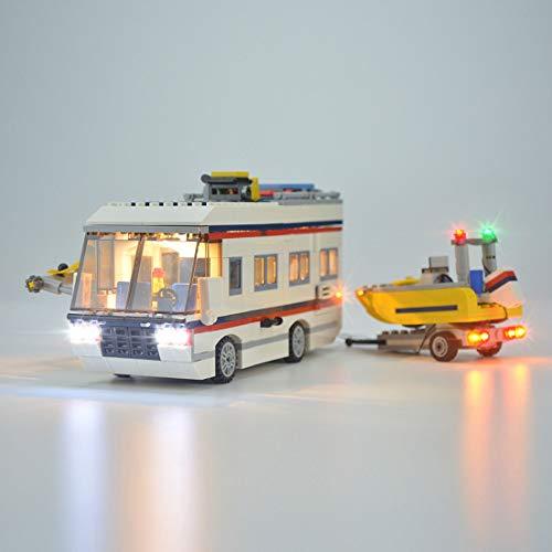 POXL Licht-Set Für Lego Creator Urlaubsreisen 31052 - LED Licht Set Led Beleuchtungsset - Modell Nicht Enthalten