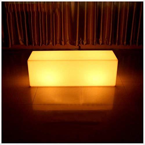 Bar Tisch, LED-Licht Barhocker 16 Farben 4 Arten Von Beleuchtungs-Modus Fernbedienung Licht Beleuchteten Tisch Für Bar Restaurant