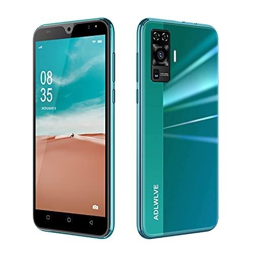 4G Smartphone Offerta del Giorno,2GB RAM/16GB ROM,5.5 Pollici Waterdrop Android 9.0 Cellulari e Smartphone 8MP Fotocamera Telefono Cellulare con Wifi Dual SIM 3600mAh Cellulare Offerta (verde)