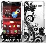 Shoparound168 Motorola Droid RAZR M 4G LTE XT907 (Verizon) Black Vine Design Cover for Motorola Droid RAZR M 4G LTE XT907