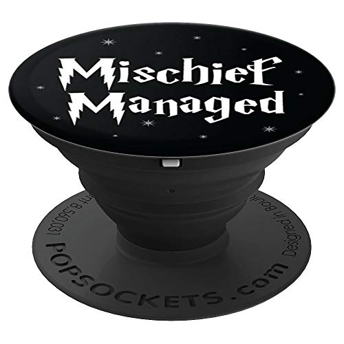 Brave New Look Michief Managed PopSockets Stand for Smartphones and Tablets - PopSockets Grip and Stand for Phones and Tablets