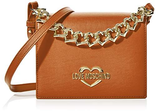 Love Moschino Jc4043pp1a, Borsa a Mano Donna, Marrone (Cuoio), 8x16x20...
