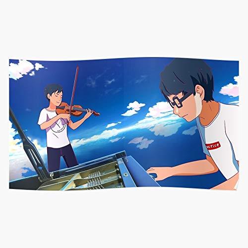 SARAHSILVA Twosetviolin Chen Yang Twoset Violin Eddy Brett Practice Music Lingling40Hours Orchestra I S Poster for Home Decor Wall Art Print Poster