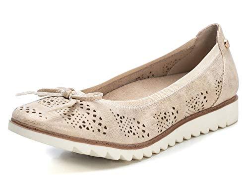 XTI Zapato Bailarina XTI049792 para Mujer Gold 39