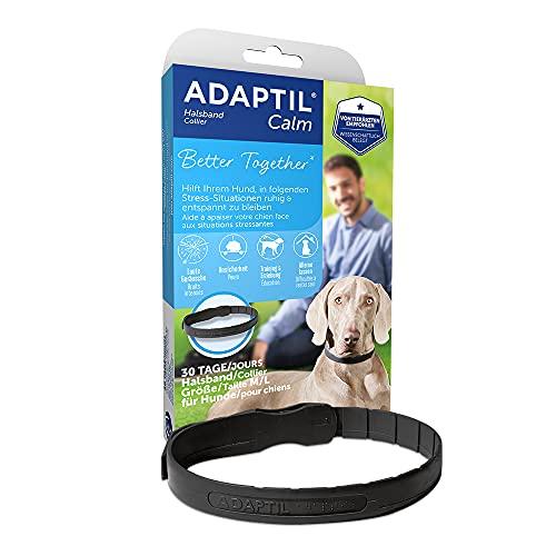 ADAPTIL® Calm Halsband für mittelgroße-große Hunde | Anti Stress Halsband Hund | Halsumfang bis 62,5cm