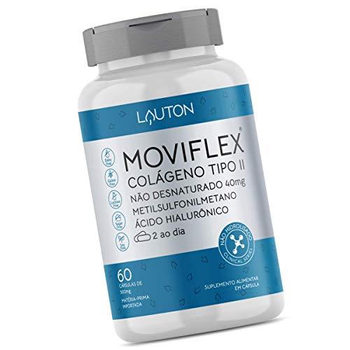Moviflex Colageno Tipo 2 Nao Hidrolisado 40mg 60 Caps - Lauton Nutrition