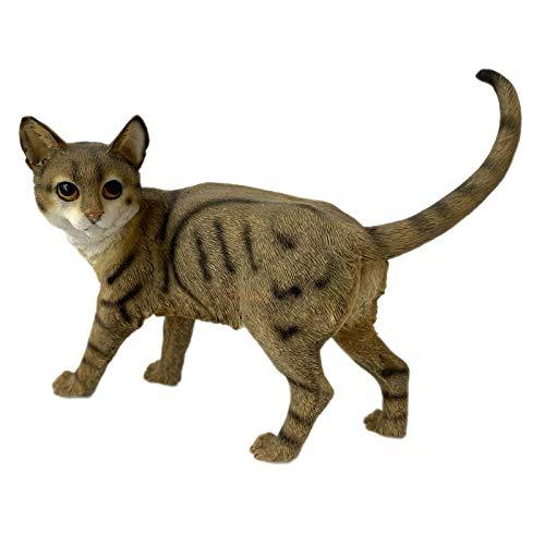 Darthome Ltd Standing Tabby Kitten Ornament Decorative Figurine Home Cat Lover Gift Statue A 14cm