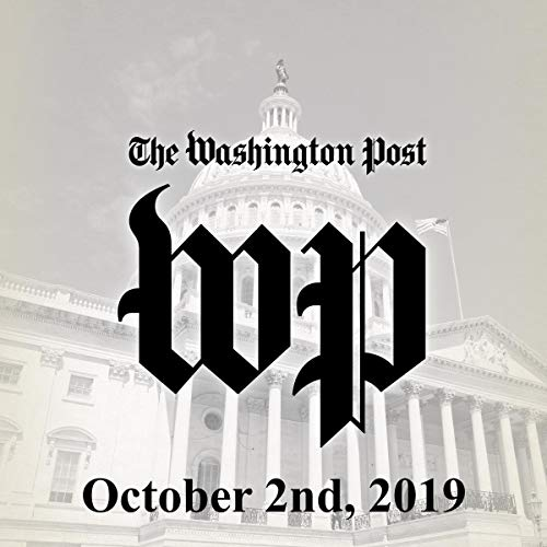 October 2, 2019 copertina