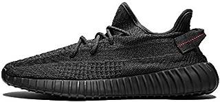 Adidas Yeezy Boost 350 V2 Black Angel Black Soul Hollow Black Coconut Running Shoes FU9006