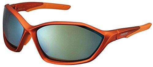 SHIMANO Sport Gafas de Sol S71X PL, Todo el año, Color Matt Orangemetallic-Orange, tamaño Talla única