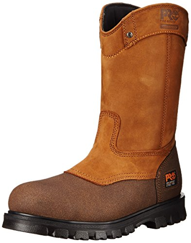 Timberland PRO Chaussure Imperméable à L'Eau de Sécurité en Acier Rigmaster Wellington DE 9 PO Pour Hommes, 38 2E EU, Wheat Bandit
