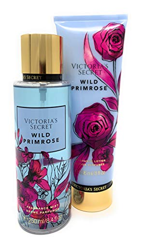 Victoria's Secret Wild Primrose Fragrance Mist and Lotion 2 Piece Bundle