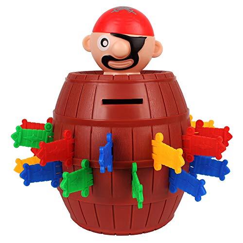 FeiWen Juegos Familiares Juguetes de Fiesta Pirata Salta Juguete Broma