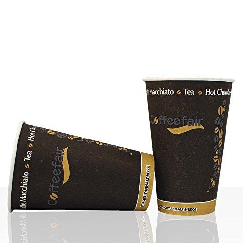 Coffeefair Coffee to go Becher Hartpapier 0,3l, 100Stk, Kaffeebecher
