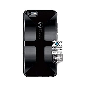 Iphone 6/6s Plus Case - Speck Candyshell + Faceplate - Black/slate