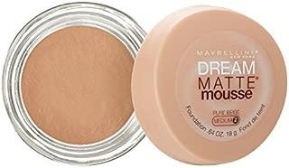 Maybelline Dream Matte Mousse Foundation – Pure Beige (Medium 2)