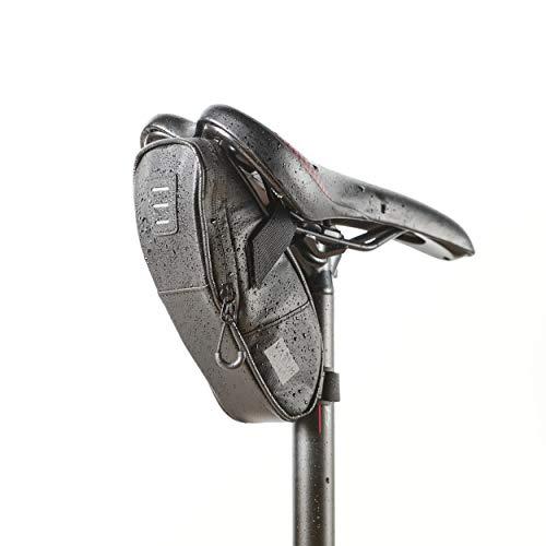 Vatum Bikes wasserdichte Fahrradtasche mit Platz für Rücklicht & Zubehör - Satteltaschen für Fahrrad - Ideal für Fahrradzubehör & Werkzeug (Kompakt)