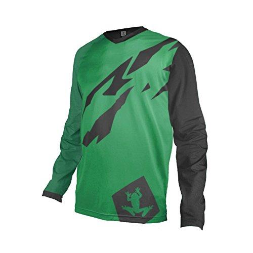 Uglyfrog Moto Cross Jersey Schwarz MX Downhill Motorrad Enduro Shirt