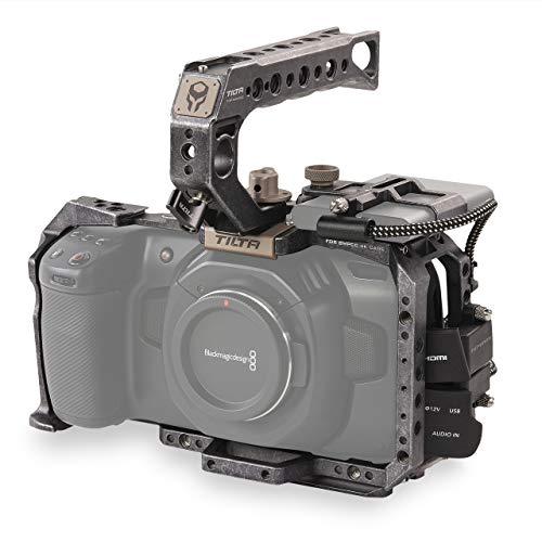 (Tactical Gray) TILTA TA-T01-B-G BMPCC 6K / BMPCC 4K Kamera Käfig Basic Kit Cage Blackmagic Pocket Cinema Camera 4K / 6K Rig (BMPCC 4K / 6K Basic Kit)