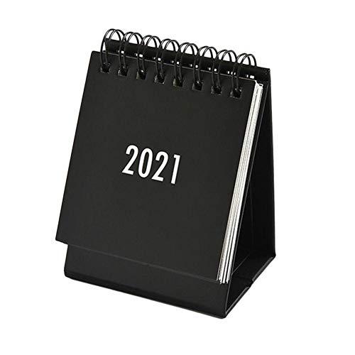MOMOTOU Calendario de escritorio 2021 para 12 meses, calendario mensual de planificación para el hogar, la escuela y la oficina