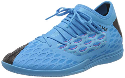Puma Herren Future 5.3 Netfit It Laufschuhe, Blau (Luminous Blue-NRGY Blue Black-Pink Alert), 47 EU