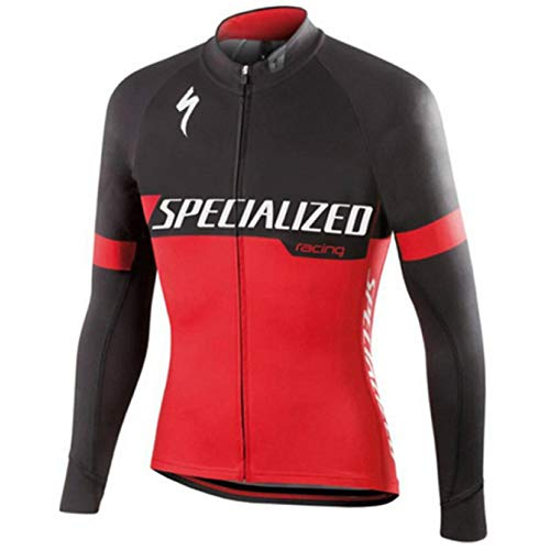 Men's Cycling Jersey Long Sleeve UF50+ Breathable Quick-Dry Bike Shirt 3D Gel Padded Long Pants Bicycle Clothing