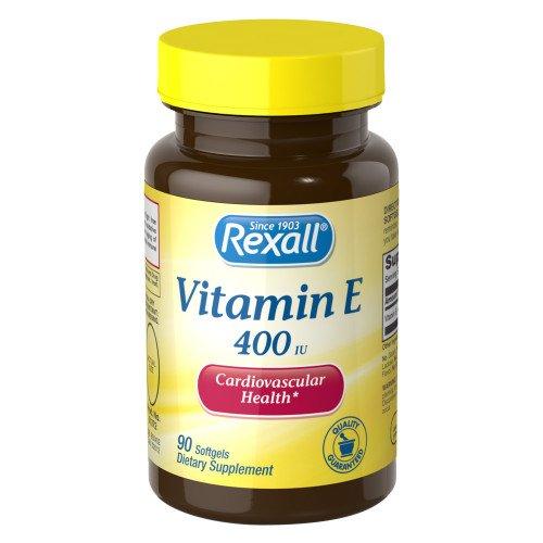 Rexall Vitamin E 400 Ranking integrated 1st place Milwaukee Mall Iu - 90 Softgels Ct