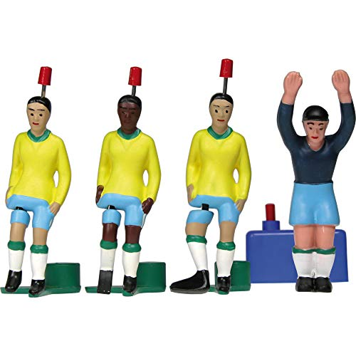 TIPP-KICK WM Classics Weltmeister Brasilien 1970 Spieler-Set Kicker, Top-Kicker, Star-Kicker & TIPP-KICK Torwart I Kick-TIPP Zubehör