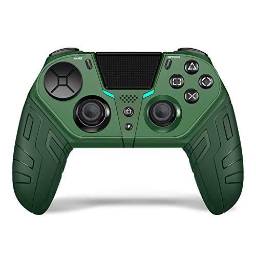 FANZHOU Controlador Pro sem fio, Gamepad do controlador de jogo compatível com console P-S-4- Elite / Slim / Pro