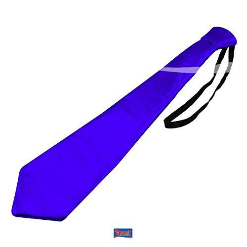 Folat Metallic Farbige Krawatte–blau
