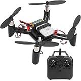 Mini Kit de Drone RC DIY, Ligero Montaje de Bricolaje con Control Remoto Kit de dron 2.4G Mini Quadcopter Juguete Educativo para niños