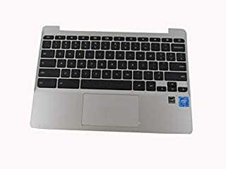 Keyboard for HP ChromeBook 11-V 11-V019WM Laptop Palmrest w/Keyboard&Touchpad 855623-001 + Clear ProtCector Cover
