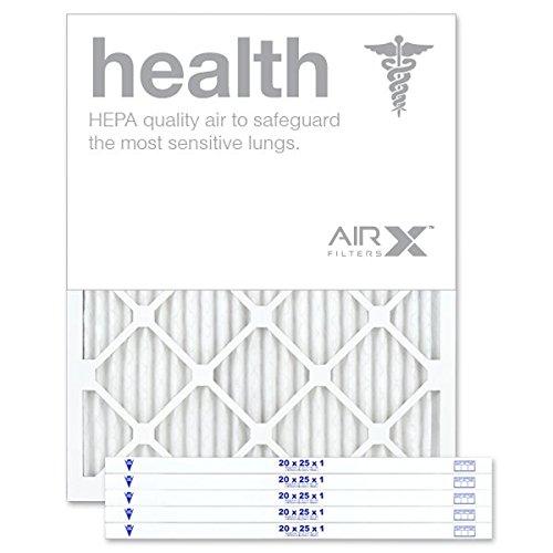 AIRx HEALTH 20x25x1 MERV 13 Pleated Air Filter