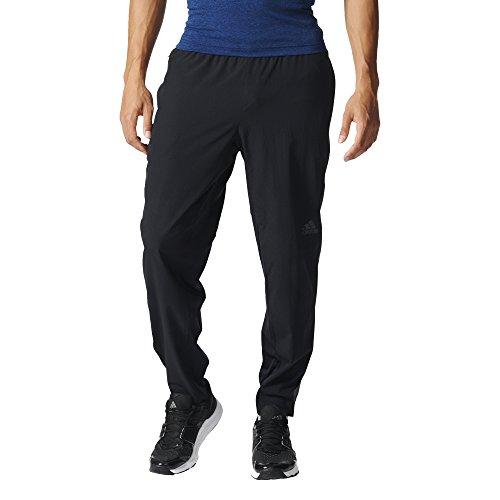 adidas Herren Workout Woven Sporthose, Black, S