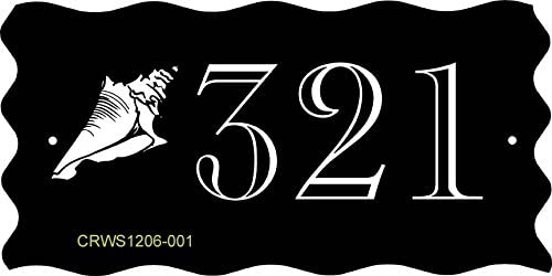 Comfort House Address Sign OFFer - wholesale Theme Beach Seashell Plaque
