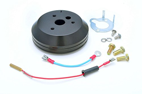 GT Performance 20-5002 Steering Wheel Install Hub for GM, Black Anodized