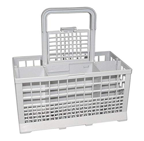 Cesto portaposate Universale per lavastoviglie Carrera Eurotech Homark Lendi Powerpoint Servis White Westinghouse Baumatic Bosch NEF Grigio