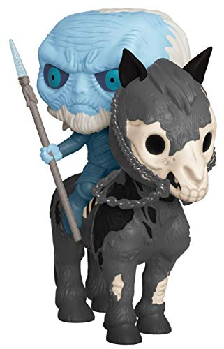 Funko Pop! Rides: Game of Thrones – Glow in The Dark White Walker and Horse, Amazon Exclusive