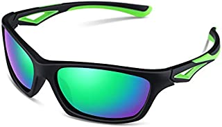 TPEE Unbreakable Polarized Kids Sports Sunglasses with...