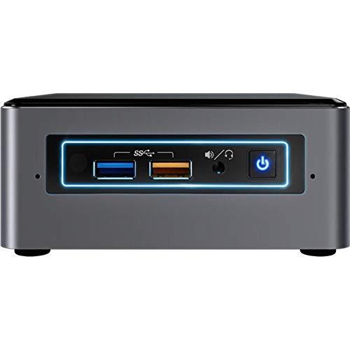 Intel NUC - Mini PC (Intel Core i3-7100U, 2 x 2,40 GHz, 4 GB de RAM, 256 GB SSD HDMI, RJ-45, Mini-DisplayPort, Windows 10 Professional + G-Data Antivirus