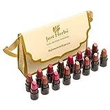 Just Herbs Ayurvedic Lipstick Shade Sampler Kit