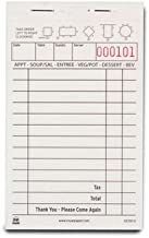 Royal White Order Pads, Carbonless 2 Part Booked with 13 Lines, Package of 10 Books